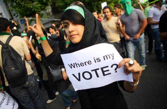 Iranian Protester 2009